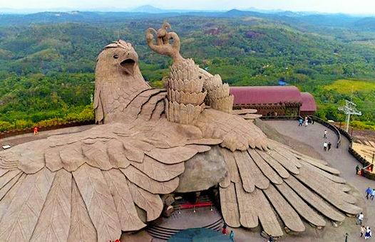 La plus grande sculpture d'oiseau qui soit